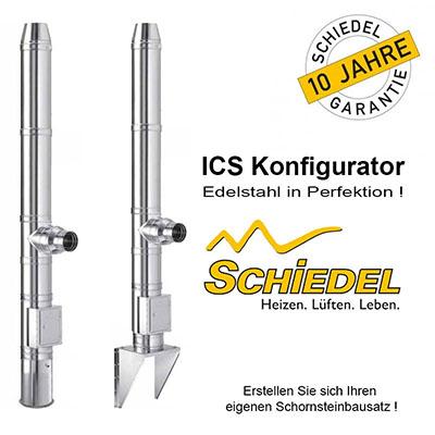 Edelstahl Schornstein Konfigurator
