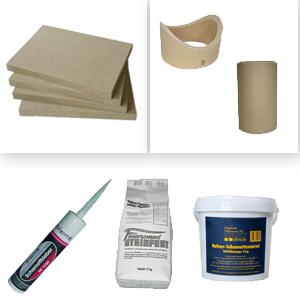 Ofenbau/Reparatur-Zubehör