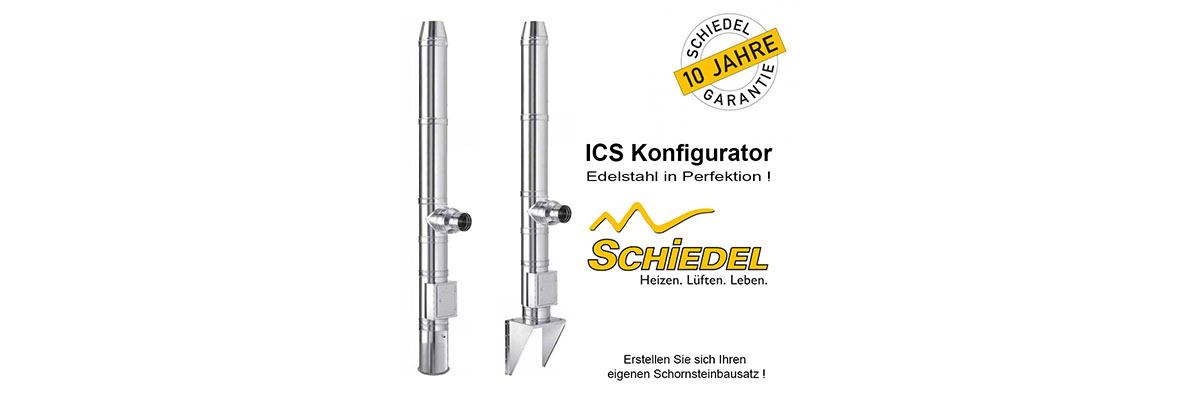 NEU! Edelstahl Schornstein Konfiguratoren - Edelstahl Schornstein Konfiguratoren, jetzt neu bei Kamin-Store24.de