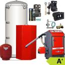 Atmos Pellet komplett Heizung P25 1x Heizkreis Puffer PAW...