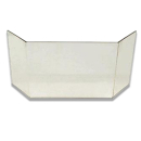 Glasscheibe komplett passend für Kaminofen Zirkon...