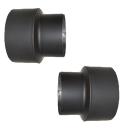 Reduzierung Erweiterung für 2mm Rohre 120-200mm