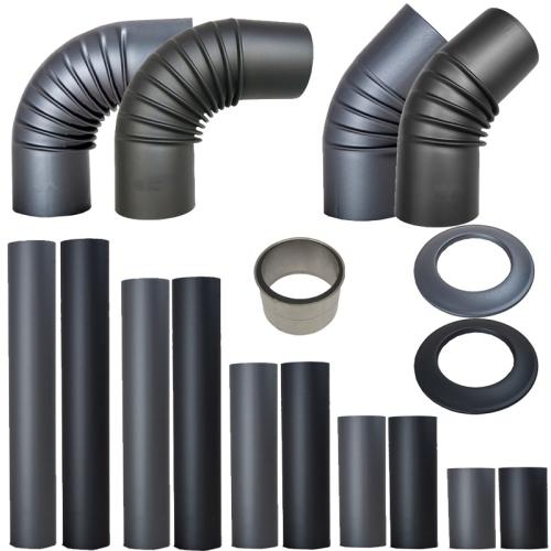 Ofenrohr Pellet Senotherm alle Bauteile und Durchmesser