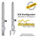 Schiedel Edelstahlschornstein ICS Konfigurator Bausatz