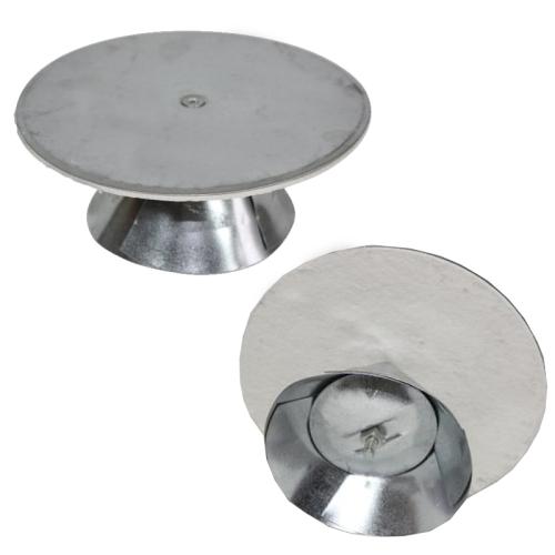 Universal Schornsteinverschluss 100mm - 135 mm verstellbar