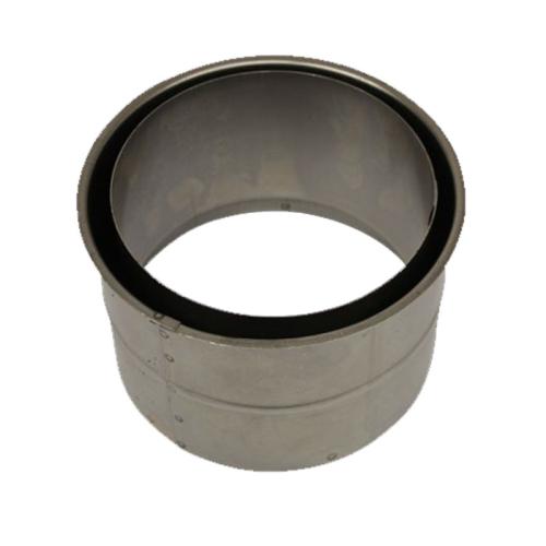 Rauchrohr Wandfutter doppelt für 2mm Rohr 120mm - 300mm Durchmesser
