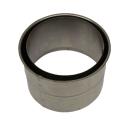 Rauchrohr Wandfutter doppelt für 2mm Rohr 120mm -...