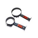 Rauchrohr Halterung verstellbar für 2mm Rohr 120mm -...