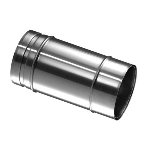 Schiedel Prima Plus PPL Anschlussfutter eingesteckt einwandig für Rohr DN 140mm mit Wandfutter DN 180mm