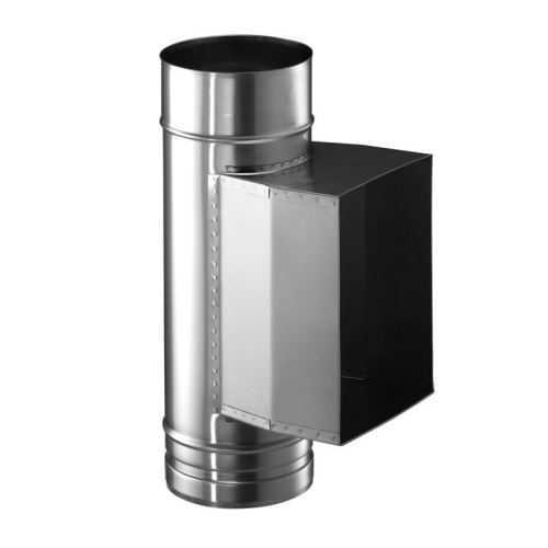 Schiedel Prima Plus PPL Putztüranschluss eckig DN 120mm mit Kondensatsperre