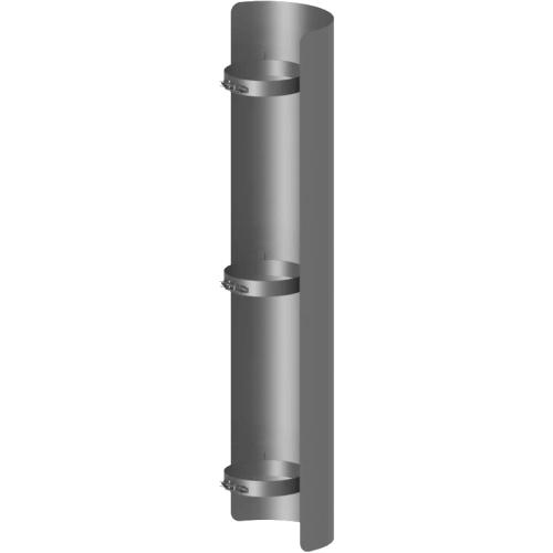 Ofenrohr Strahlungsschutz Länge= 1000 mm  DN 130mm gussgrau