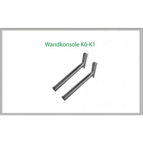 Wandkonsole K0 430mm für Schornsteinsets 150mm DW6