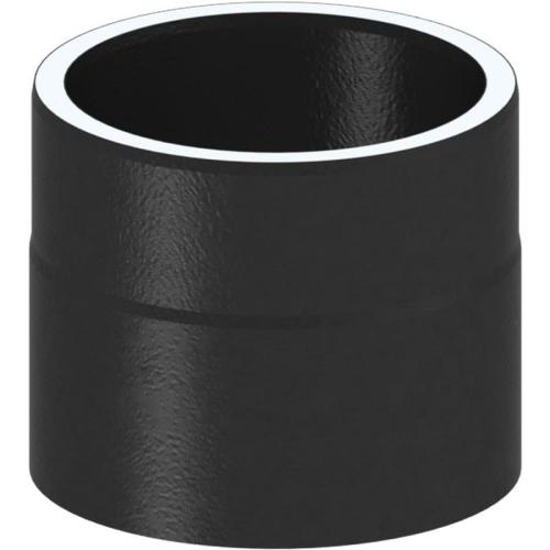 Tecnovis Tec-Protect Längenelement 150 mm Schwarz DN 130mm