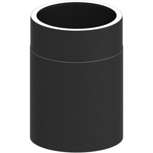 Tecnovis Tec-Protect Längenelement 250 mm Schwarz DN 130mm