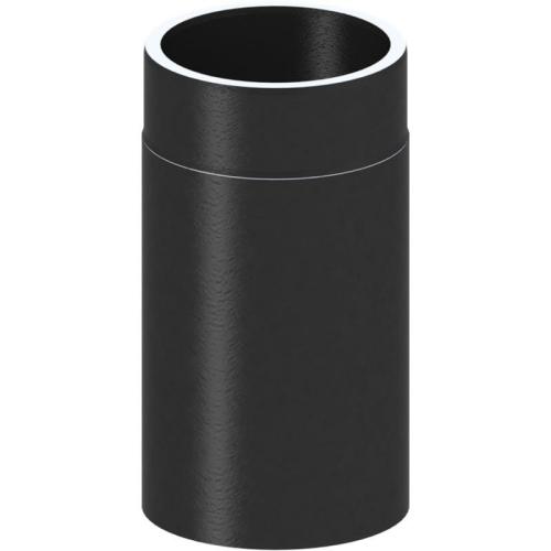 Tecnovis Tec-Protect Längenelement 330mm Schwarz DN 130mm