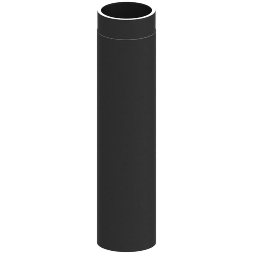Tecnovis Tec-Protect Längenelement 750 mm Schwarz DN 150mm