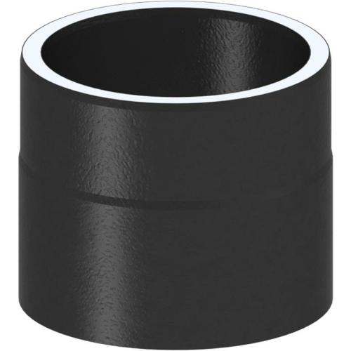 Tecnovis Tec-Protect Längenelement 130 mm mit Kondensatring (mit Einzug) Schwarz DN 150mm
