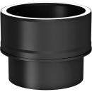 Tecnovis Tec-Protect Übergang von Kaminofen auf Tec-Protect Schwarz DN 130mm