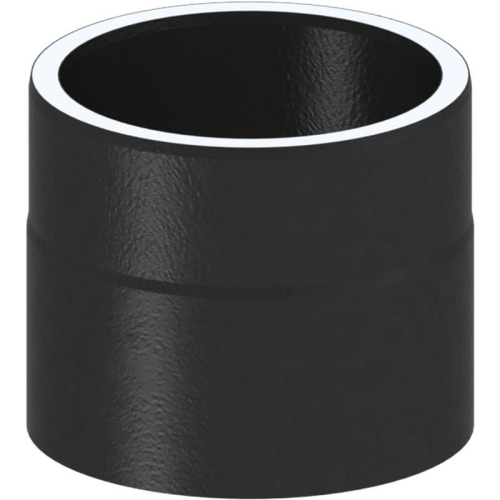 Tecnovis Tec-Protect Längenelement 150 mm Edelstahl gebürstet DN 130mm