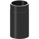 Tecnovis Tec-Protect Längenelement 330mm Edelstahl gebürstet DN 150mm