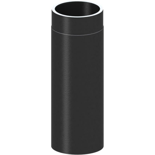 Tecnovis Tec-Protect Längenelement 500 mm Edelstahl gebürstet DN 130mm