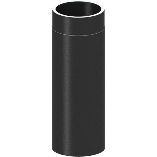Tecnovis Tec-Protect Längenelement 500 mm Edelstahl gebürstet DN 150mm