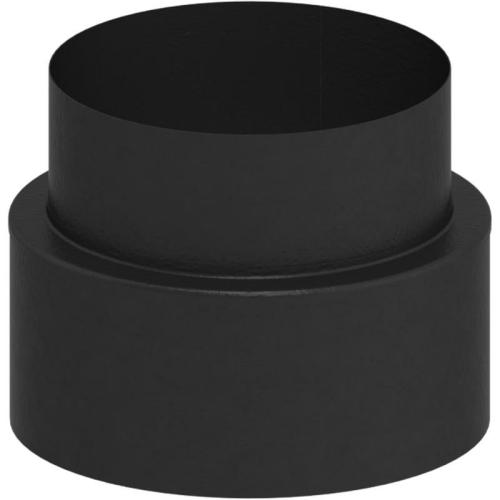 Tecnovis Tec-Protect Übergang von TEC auf EW (Wandfutter) Edelstahl gebürstet DN 130mm