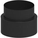 Tecnovis Tec-Protect Übergang von Tec-Protect auf EW (Wandfutter) Edelstahl gebürstet DN 150mm
