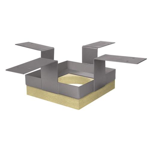 Schiedel Leichtbauschornstein Deckenhalter LB90 250x250 für Deckenstärke bis 300 mm