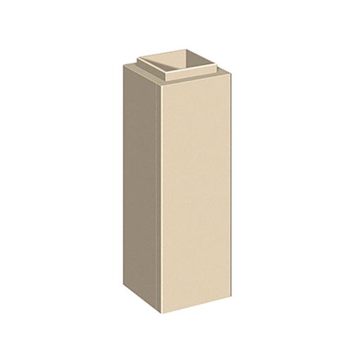 Schiedel Leichtbauschornstein LB90 Schachtelement H=1000mm 130x130