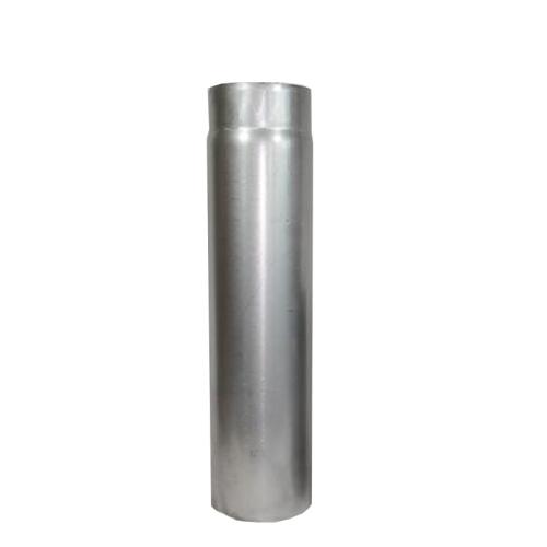 Ofenrohr Rauchrohr 1,00m DN 200mm unlackiert 2mm