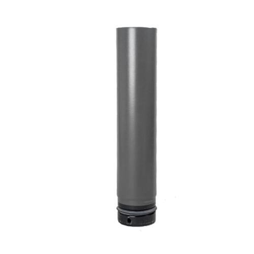 Pellet- Ofenrohr 0,50m DN 80mm gussgrau emailliert