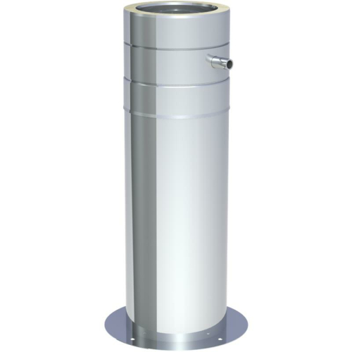Jeremias DW ECO 2.0 Teleskopstütze 250-690 mm inkl. Teleskopkopf m. Ablauf seitl. DN 180mm