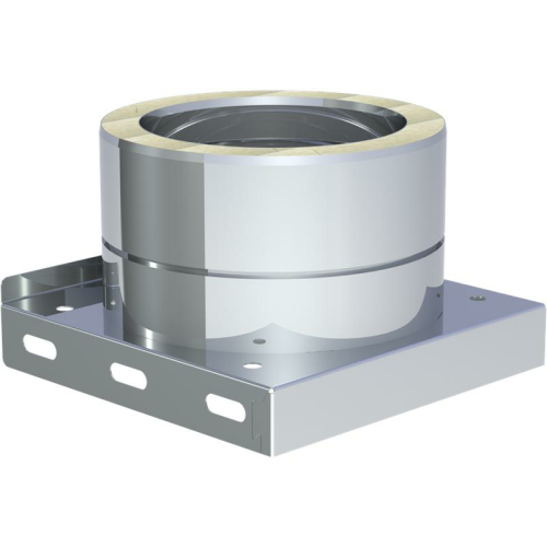 Jeremias DW ECO 2.0 Grundplatte mit Kondensatablauf unten und 1/2 Zoll Nippel DN 150mm
