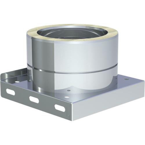 Jeremias DW ECO 2.0 Grundplatte mit Kondensatablauf unten und 1/2 Zoll Nippel DN 180mm