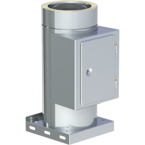Jeremias DW ECO 2.0 Reinigungselement  und Kondensatablauf mit Kondensatablauf unten DN 150mm