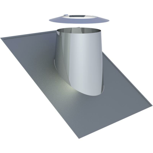 Jeremias DW ECO 2.0 Dachdurchführung 26-35° mit Wetterkragen  DN 130mm