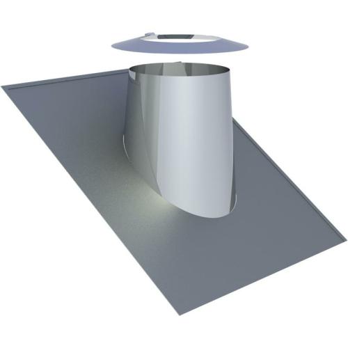 Jeremias DW ECO 2.0 Dachdurchführung 26-35° mit Wetterkragen  DN 150mm