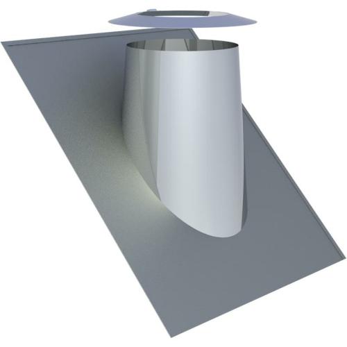 Jeremias DW ECO 2.0 Dachdurchführung 36°-45° mit Wetterkragen  DN 130mm