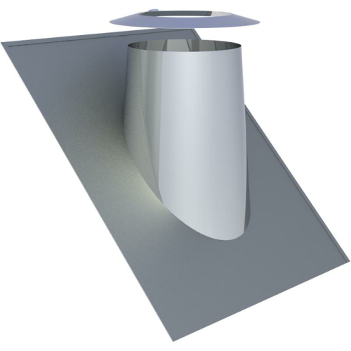 Jeremias DW ECO 2.0 Dachdurchführung 36°-45° mit Wetterkragen  DN 350mm