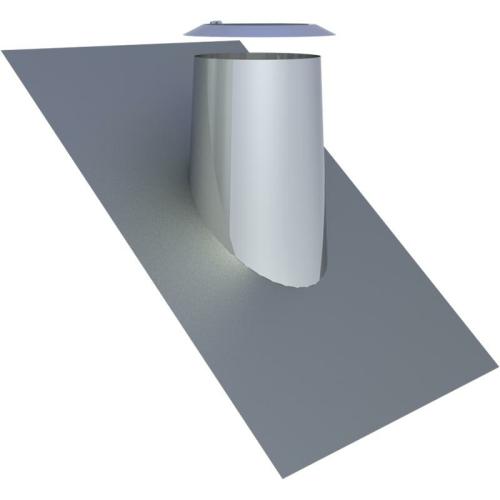 Jeremias DW ECO 2.0 Dachdurchführung 36-45° mit Bleirand und Wetterkragen  DN 180mm