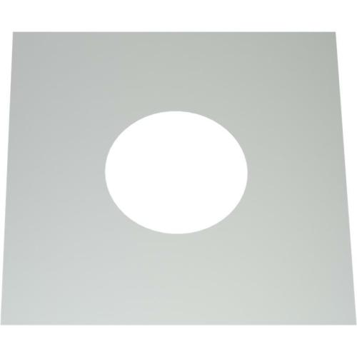 Jeremias DW ECO 2.0 Wand-/ Deckenblende, einteilig 0°  DN 130mm