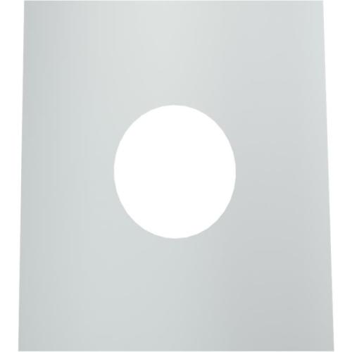 Jeremias DW ECO 2.0 Wand-/ Deckenblende, einteilig 1°-65°  DN 130mm