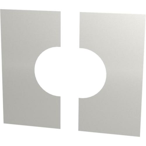 Jeremias DW ECO 2.0 Wand-/ Deckenblende, zweiteilig 0°  DN 130mm