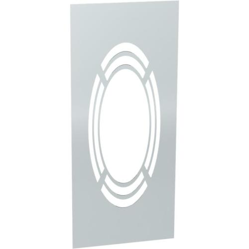 Jeremias DW ECO 2.0 Wand-/ Deckenblende, einteilig 1-65° mit Hinterlüftung  DN 160mm