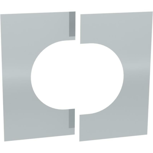 Jeremias DW ECO 2.0 Wand-/ Deckenblende, zweiteilig 0°-30°  DN 350mm