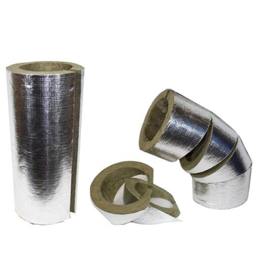 Rohrisolierung  RRS  alukaschiert verschiedene Durchmesser