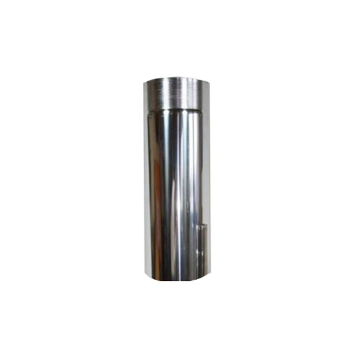Ofenrohr Edelstahl - Länge 0,50m DN 130mm