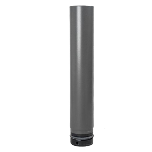 Pellet- Ofenrohr 1,00m DN 80mm gussgrau emailliert