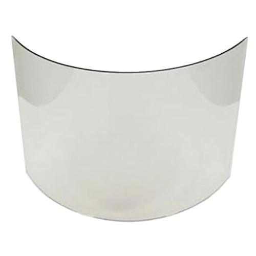 Glasscheibe passend für Kamineinsatz Mirus SZ10 von ZWS / glatter Schamottestein